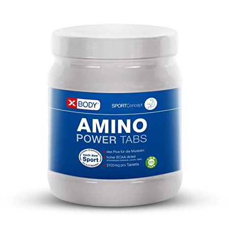XBODY® Amino Power Tabs Aminosäuren 325 Tabletten