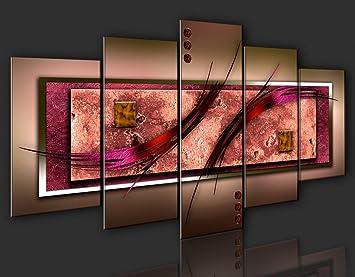 n impression sur toile toile 200x100 cm grand format 5 5 parties image sur toile. Black Bedroom Furniture Sets. Home Design Ideas