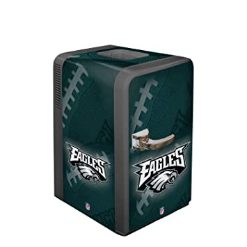 nfl philadelphia eagles portable party refrigerator