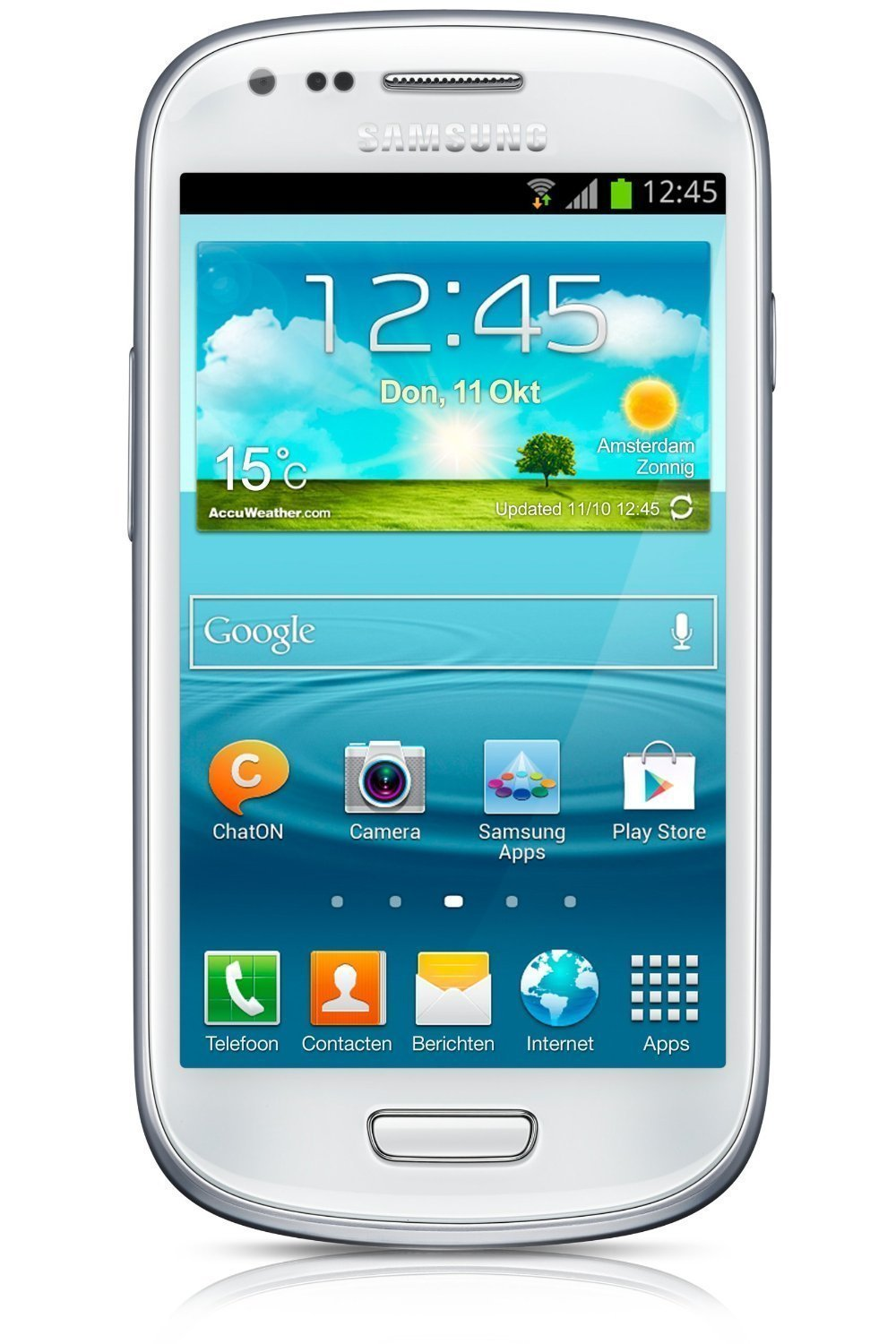 Rent to Own Samsung Galaxy S3 Mini GT- Factory Unlocked International Version (White)
