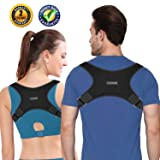 Ltrototea Back Posture Corrector for Women & Men - Back Brace Posture Corrector - Corrects Slouching, Hunching & Bad Posture - Lower Upper Shoulder Neck Pain - Clavicle Support Brace (Tamaño: S)