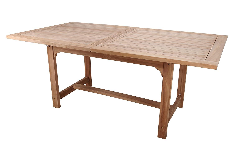 point-garden Gartenmöbel Gartentisch Teakholz Teak Tisch ausziehbar günstig kaufen