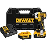 DEWALT DCF887M2 20V MAX XR Li-Ion 4.0 Ah Brushless 0.25