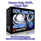 Heavy Duty CCFL Angel Eyes Halo Rings DRL for E46 Ci (04-06) facelift Coupe Convertible with Projector headlight 106 mm X 4 (7000K True White) (Color: 7000K True White)
