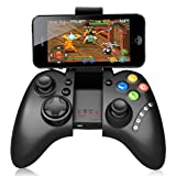 Game Controller, Arvin Adjustable Wireless Bluetooth 3.0 Rechargeable Gamepad Joystick for Android iPhone IOS Samsung Mobile phones Tablects PC Gaming System