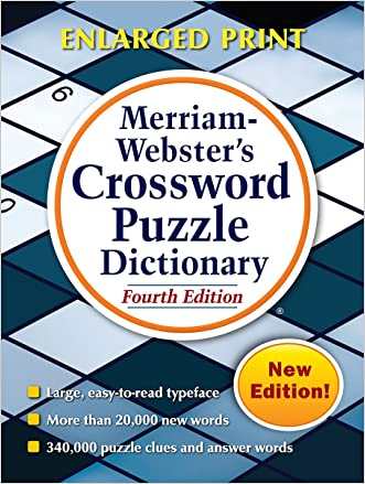 Merriam-Webster's Crossword Puzzle Dictionary, Fourth Edition written by Merriam-Webster