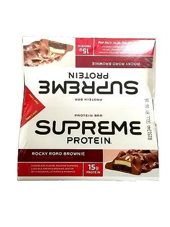 SUPREME Protein Supreme Protein Bar, 50g, Geschmack:Rocky Road Brownie