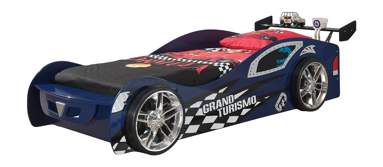 VIPACK SCGT200B Grand Turismo, circa 229 x 65 x 110 cm, Liegefläche 90 x 200 cm, lackiert aufgedruckte Rennwagen-Optik, blau günstig online kaufen