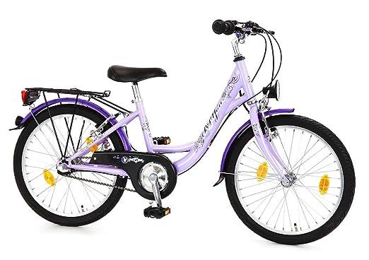 """Bachtenkirch B-You Vélo pour enfant spécial droitier Violet Cadre de 30,5 cm / Hauteur de 50,8 cm (20"""")"""