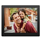 NIX Advance Digital Photo Frame 15 inch X15D. Electronic Photo Frame USB SD/SDHC. Digital Picture Frame with Motion Sensor. Remote Control and 8GB USB Stick Included (Color: Black, Tamaño: 15 inch)