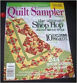 Better Homes And Garden 39 S Quilt Sampler Fall Winter 2005 Gayle Butler Books