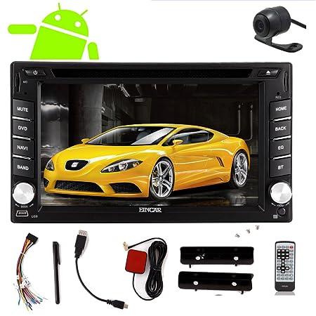 RDS Eincar universelle 2 DIN GPS Motors del coche de la radio DVD VidšŠo Motors estšŠreo GPS Android 4.2 En Cubierta USB / SD estšŠreo WiFi Bluetooth Car incorporada en el tablero de GPS gratuito BackCamera Electr