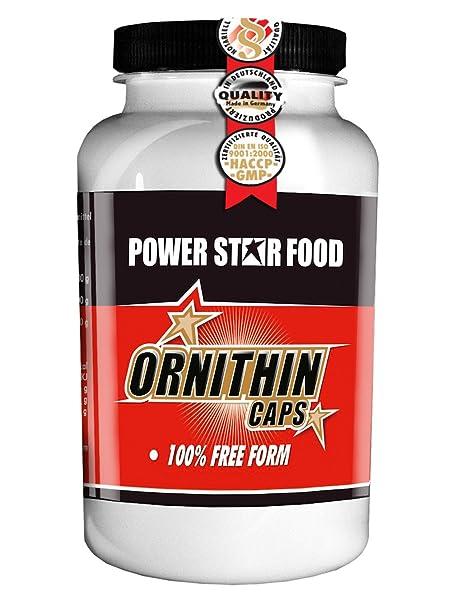 ORNITHIN CAPS, Dose 200 Kapseln à 700 mg, reines mikrokristalline L-Ornithin in Pharmaqualität. Nacht-Aminosäure fur Natural-Athleten.