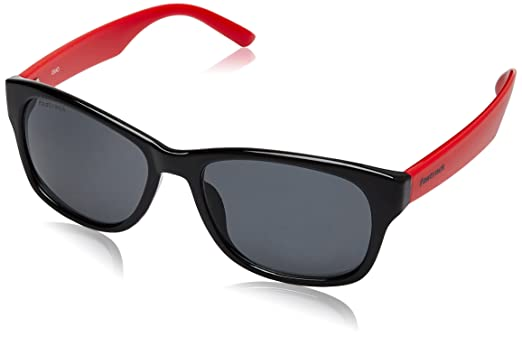 red wayfarer sunglasses uqw9  Fastrack Wayfarer Sunglasses Black and Red PC001BK5