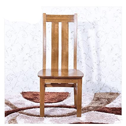 WMAOT Solid Wooden Chair Dining Side Chair Kitchen Seat Computer Chair Dining Furniture