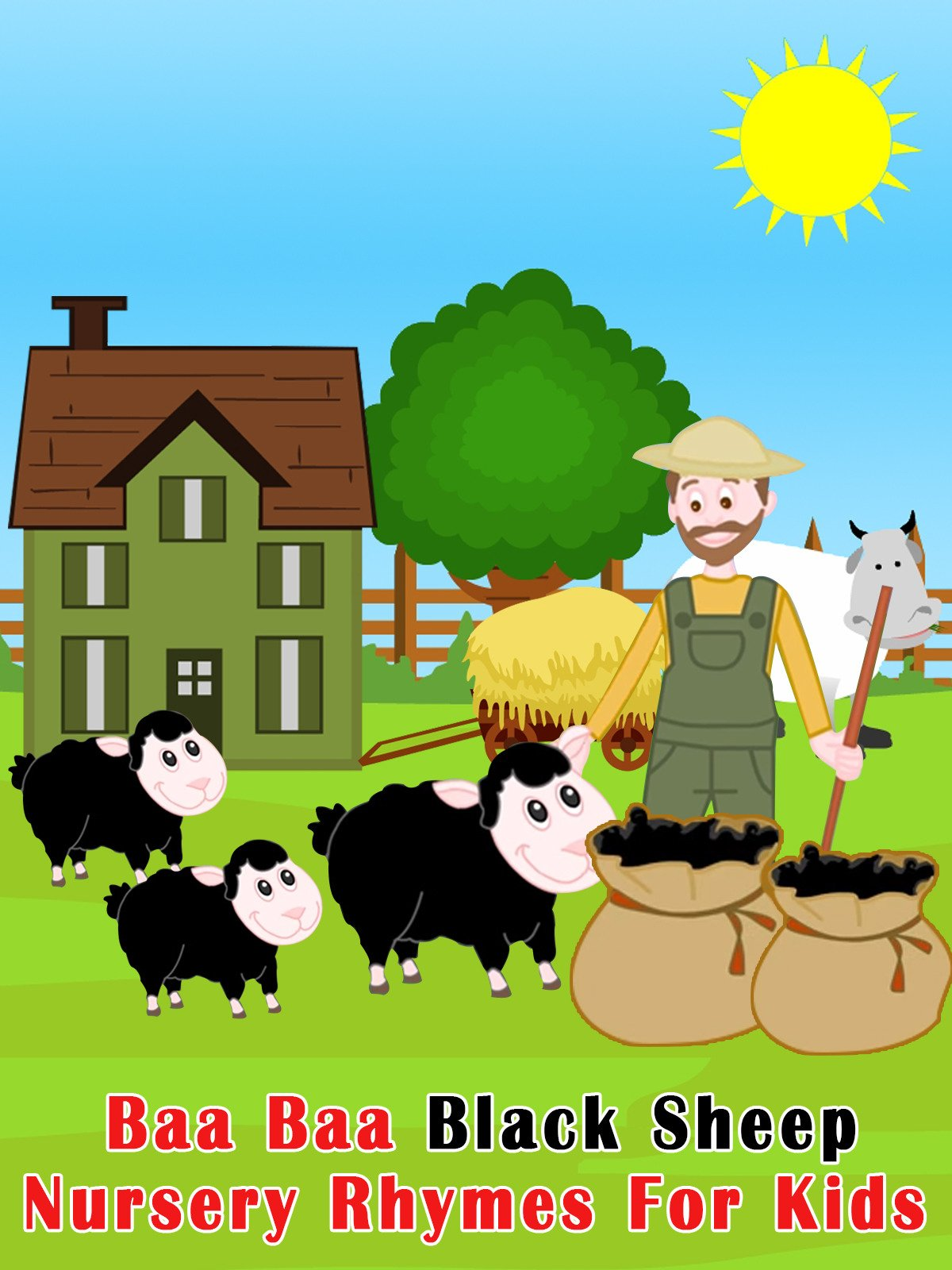 Baa Baa Black Sheep Nursery Rhymes For Kids