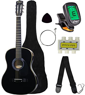 Crescent MG38-BK 38″ Acoustic Guitar Starter Package