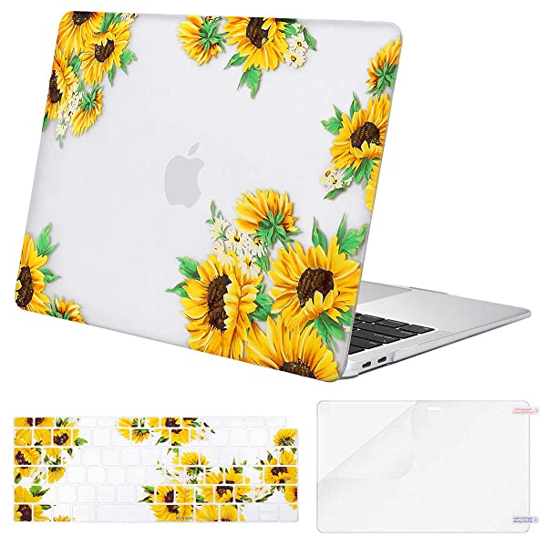 2018 For Macbook Air 13 Inch Clear Hard Case /& Keyboard /& Screen Protector A1932