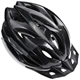 Zacro Lightweight Bike Helmet, CPSC Certified Cycle Helmet Adjustable Thrasher for Adult with Detachable Liner with Water and Dust Resistant Cover, Grey