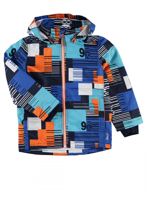 name it Kids Jungen Übergangsjacke, Regenjacke, Jacke Mellon Square in blau/weiß/orange jetzt bestellen