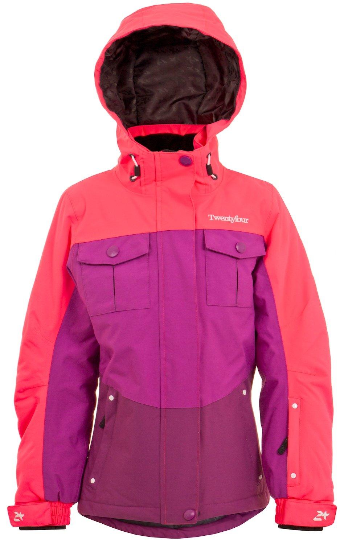 Twentyfour Mädchen Ski Funktions Jacke Flid – Ski Jacke mit vielen praktischen Details jetzt bestellen