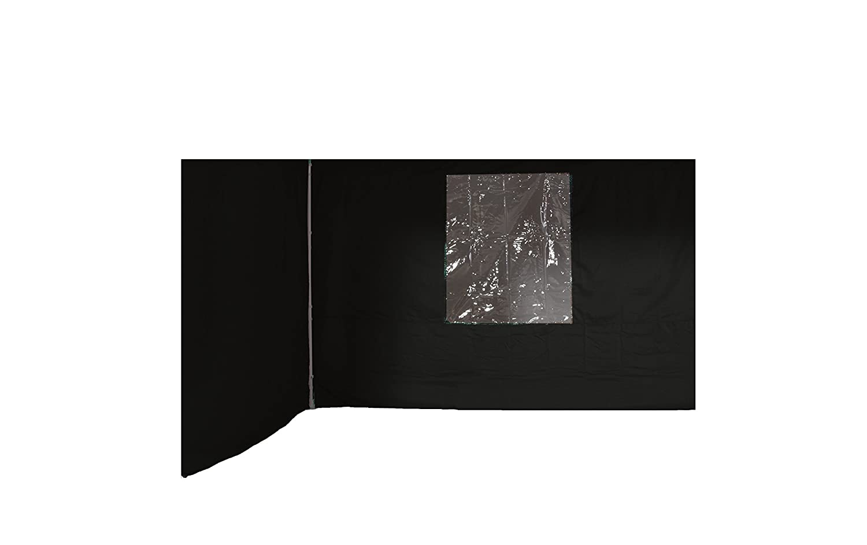 Garden Impressions Pavillon Manta Set, 2 Seitenwände, Dunkelgrau, 3x3m günstig online kaufen