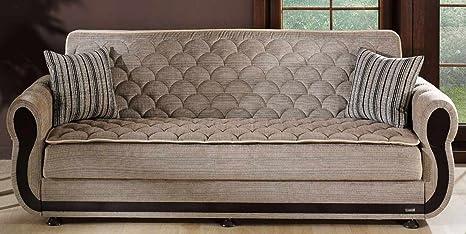 Argos Zilkade Light Brown Sofa Bed by Sunset