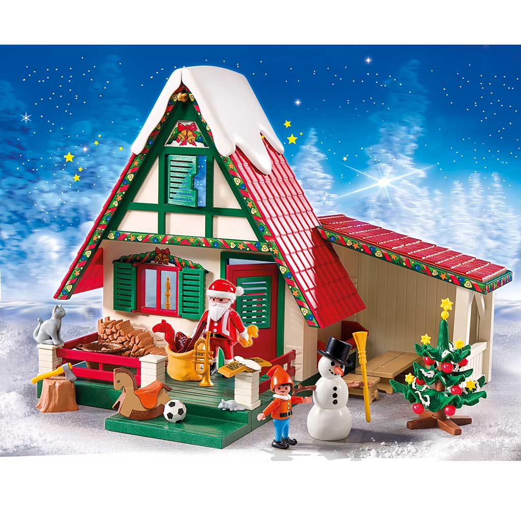 Amazon.com: PLAYMOBIL Santa's Home: Toys & Games