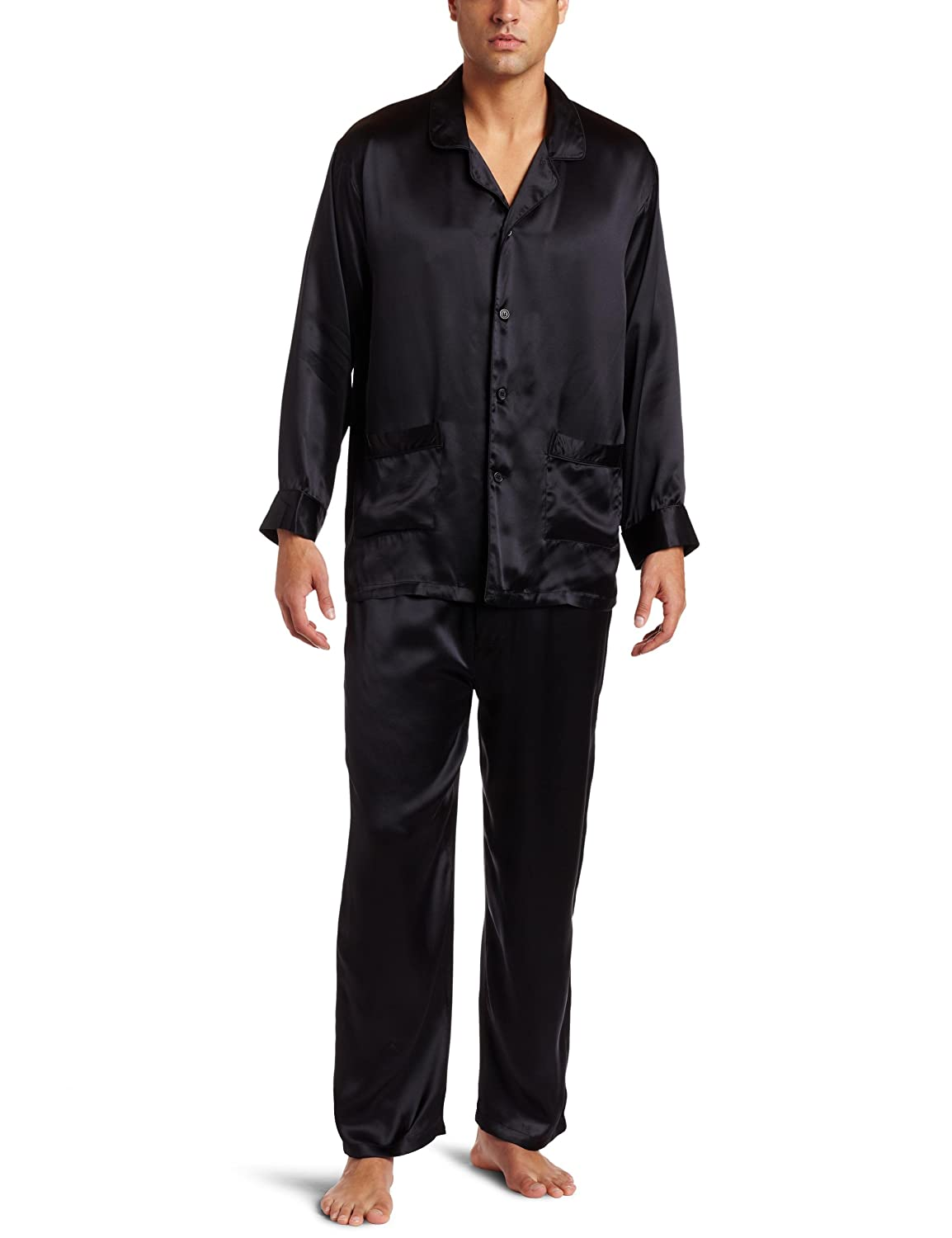 Black Silk Pajamas: Stylish Men's Silk Pajamas For 2015