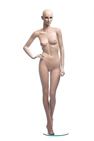 Stunning Sexy Female Full Body Fiberglass Realistic Mannequin w/Wig