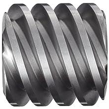 "Boston Gear D1618KRH Worm Gear, 14.5 Degree Pressure Angle, 0.750"" Bore, 10 Pitch, 1.25 PD, RH"