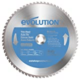 Evolution Power Tools 14BLADETS Tooth Thin Steel Cutting Blade, 14-Inch x 90-Inch (Color: Blue, Tamaño: 14 Inch Thin Steel)