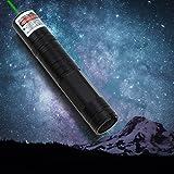 Weehey 5mW Laser Pointer JD-850 Multipurpose 5mW High Power 532nm Green Light Laser Pointer Pen Flashlight 1000M Ultra-Long Light Visibility