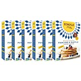 Simple Mills Almond Flour Mix, Pancake & Waffle, Naturally Gluten Free, 10.7 oz
