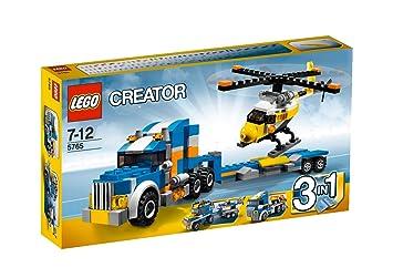 Lego Creator - 5765 - Jeu de Construction - Le Transport D'hélicoptère