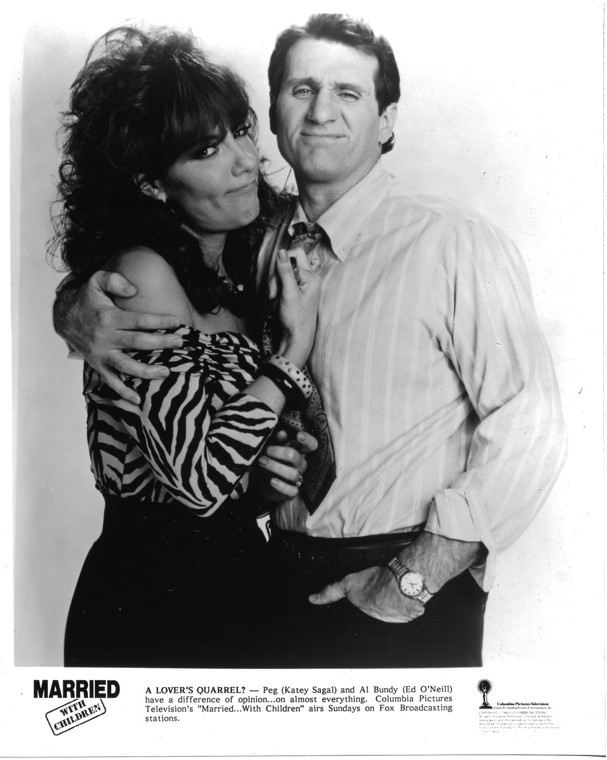 Married With Children Cast 8x10 photo G1963 uniformly fabulous