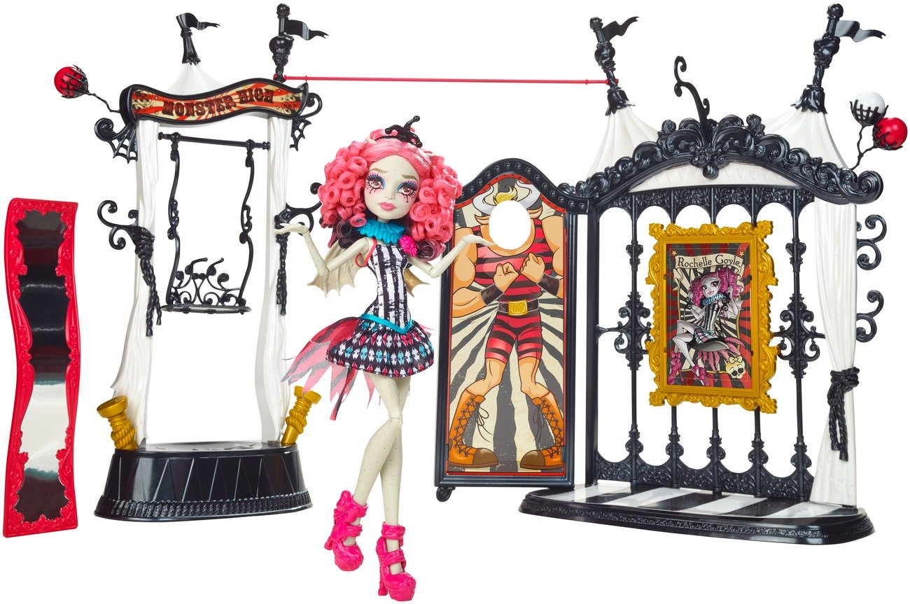 Monster High Freak du Chic Circus Scaregrounds and Rochelle Goyle Doll