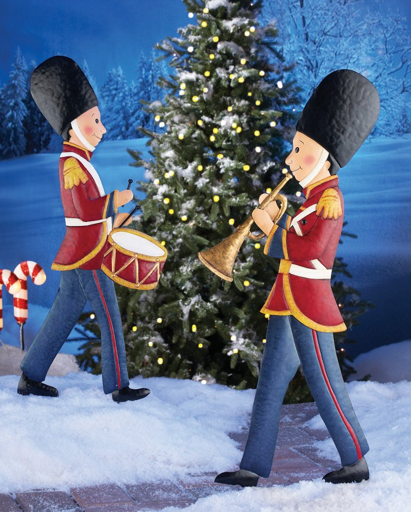 Nutcracker outdoor yard stakes christmas wikii
