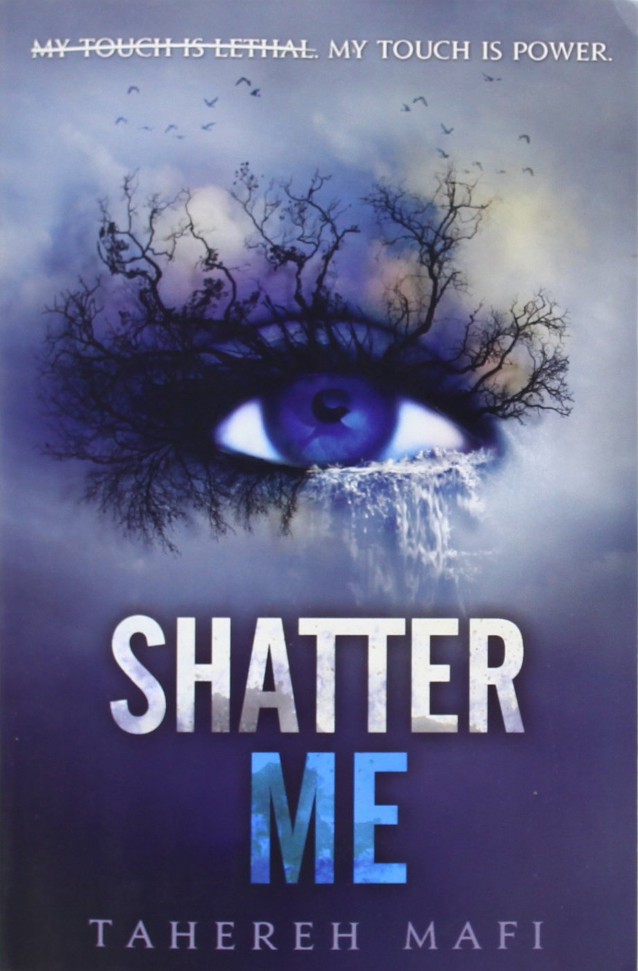 http://www.amazon.it/Shatter-Me-Tahereh-Mafi/dp/0062085506/ref=tmm_pap_title_0?ie=UTF8&qid=1418301098&sr=1-3