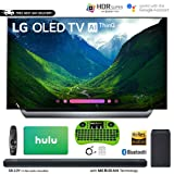 LG C8 OLED 4K HDR AI Smart TV (2018 Model) + LG SK10Y 5.1.2-Channel Hi-Res Audio Soundbar Dolby Atmos + Hulu $100 Gift Card (55