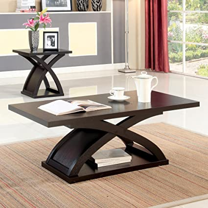 Furniture of America Monte Accent Coffee Table - Espresso