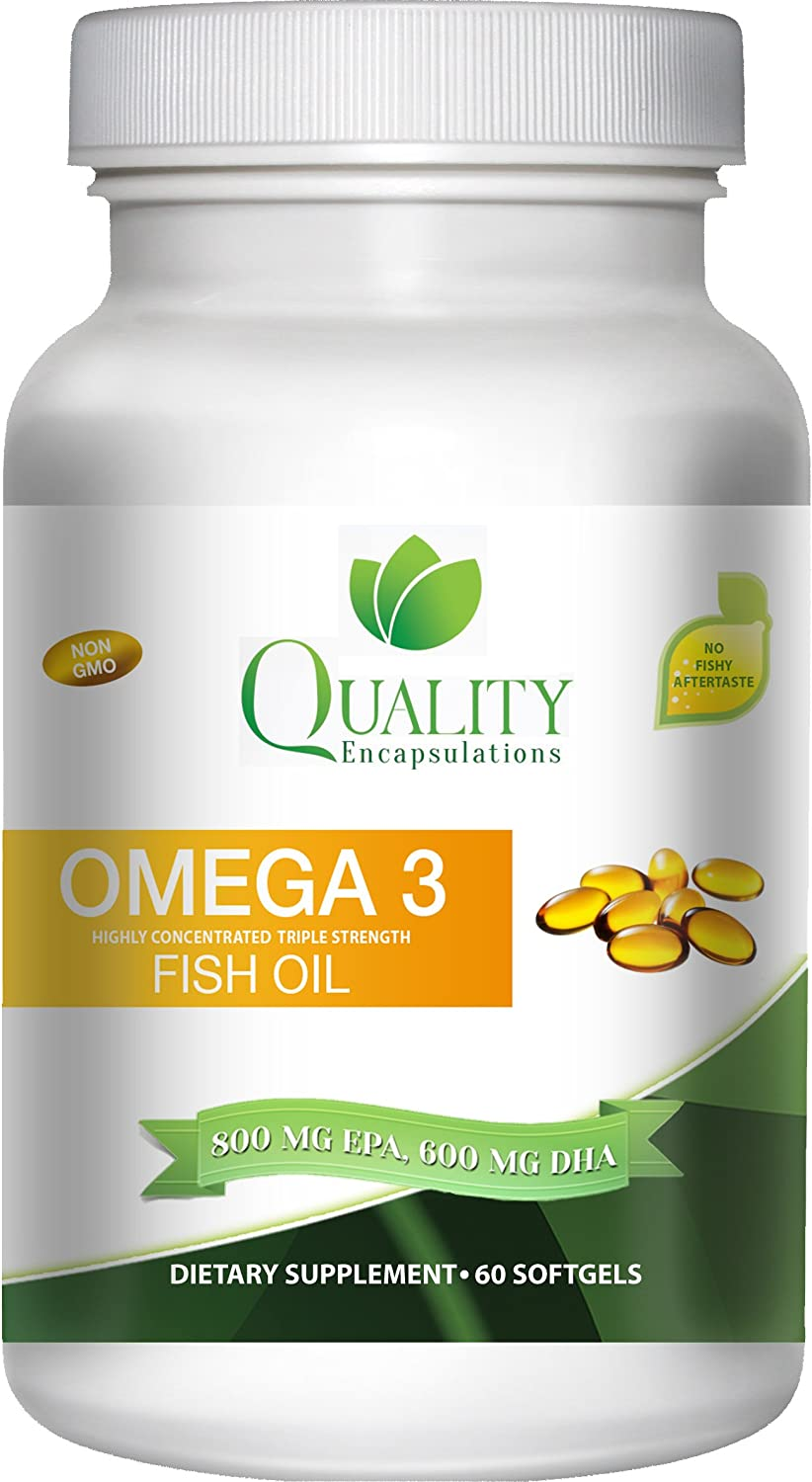 Glamamama 39 s goodies quality encapsulations omega 3 fish for Omega 3 fish oil reviews