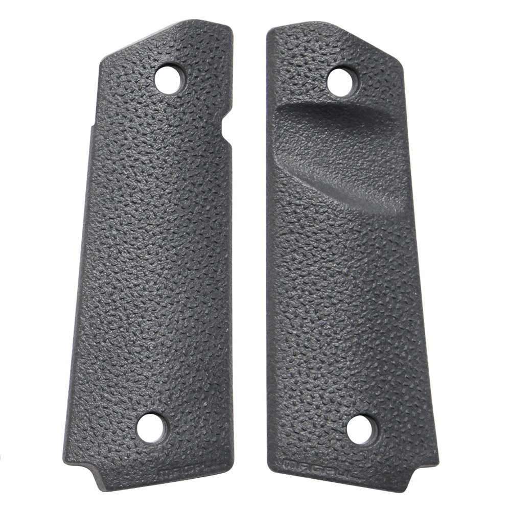 Magpul's 1911 grip panels were an upgrade for me. Maybe they will be for you?