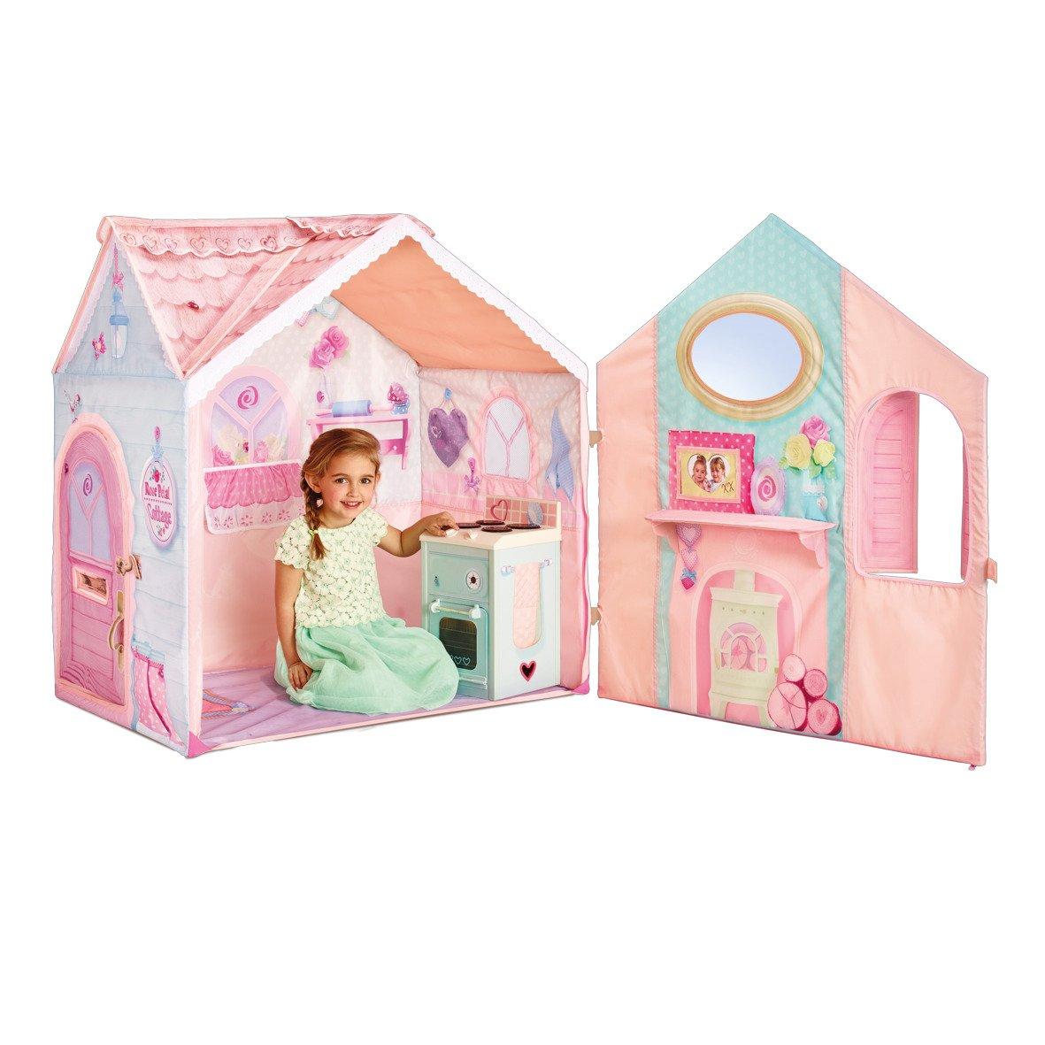 Spielhaus Mädchen Zelt Spielküche Kinderhaus Babyzelt Mädchenzelt Rosa Kinderzelt Haus kaufen