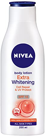 Nivea Body Extra Whitening Body Lotion, 200ml @Rs.131 - Deals Street