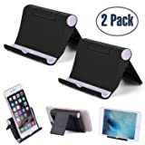 Cell Phone Stand Multi-Angle,?2 Pack? Tablet Stand Universal Smartphones for Holder Tablets(6-11