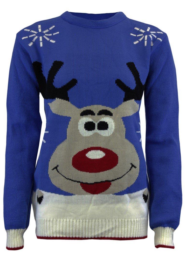 Unisex Knitted Christmas Retro Jumper