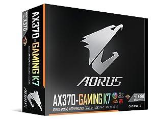 GIGABYTE AORUS GA-AX370-Gaming K7 (AMD Ryzen AM4/ X370/ RGB FUSION/ SMART FAN 5/ HDMI/ M.2/ U.2/ USB 3.1 Type-C/ ATX/ DDR4/ Motherboard) (Tamaño: Motherboard)