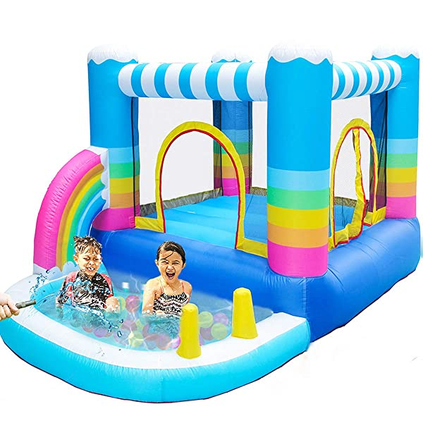 Meiouka Outdoor Indoor Inflatable Bounce Houses Jumper With Small