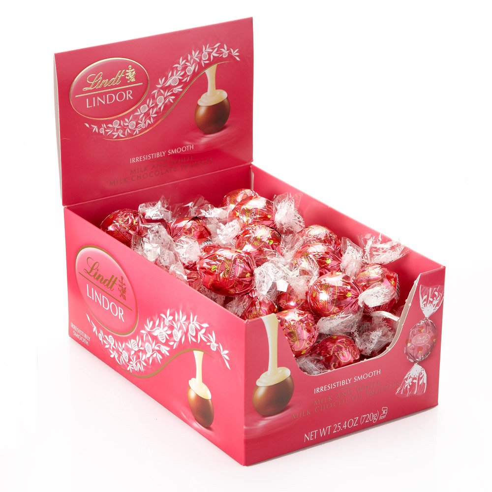 Lindt Lindor Valentine Truffles Chocolate Box, 25.4 Ounce